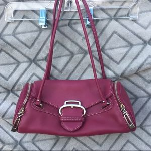Cole Haan Leather Alexa Roll Bag